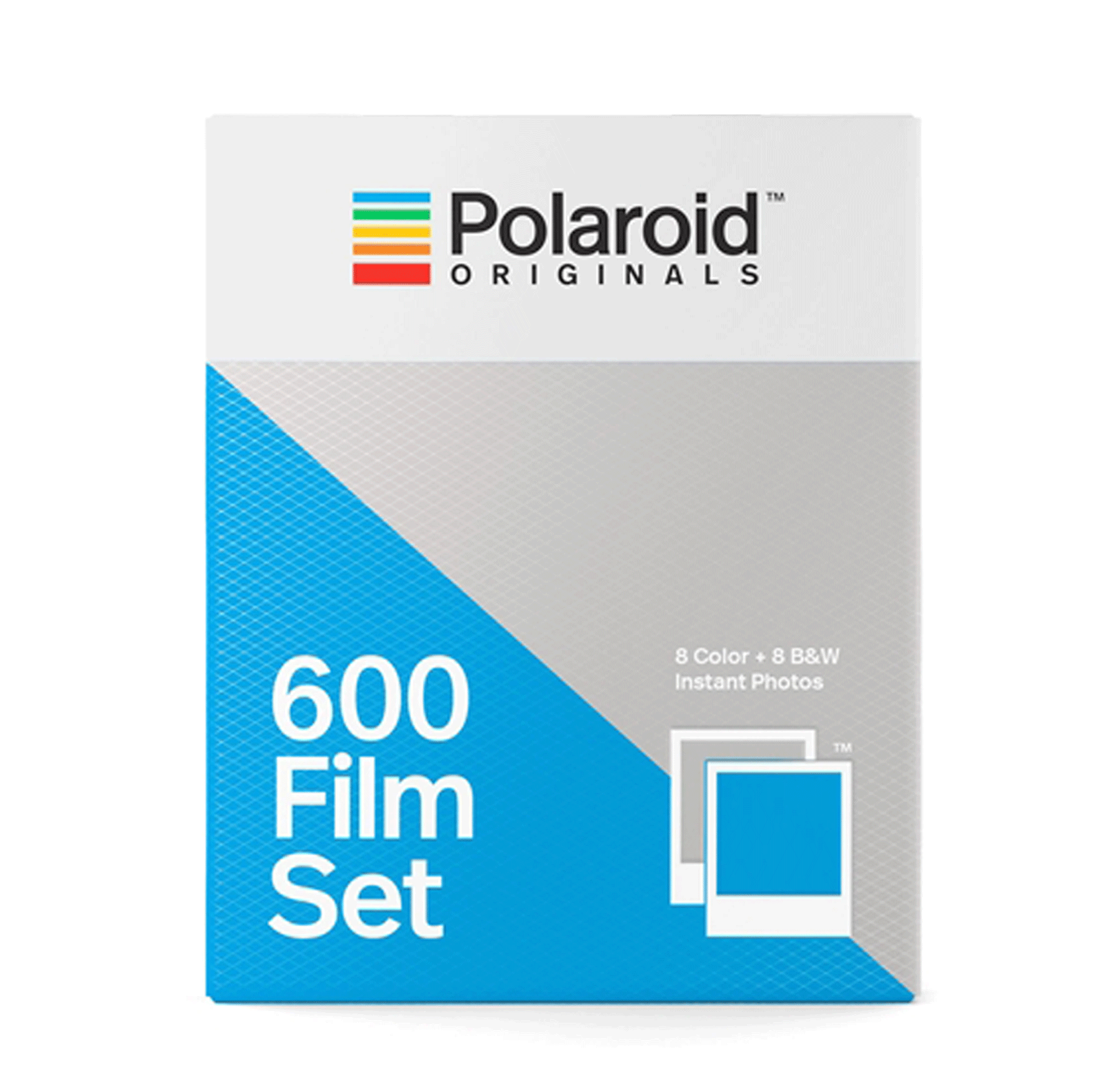 Double pack // Polaroid Color + B&W film 600