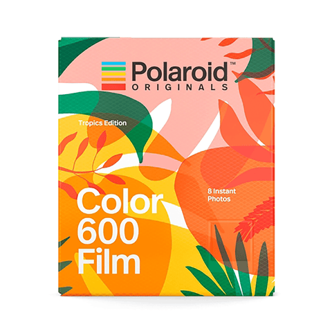 Polaroid Color film 600 // Tropics