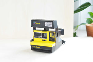 Polaroid Supercolors Yellow Camera