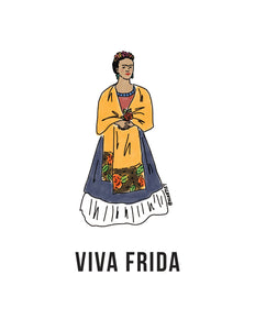 Viva Frida Print (by Kiartist)