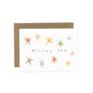 'Missing You' Greeting Card (by Laura Supnik)