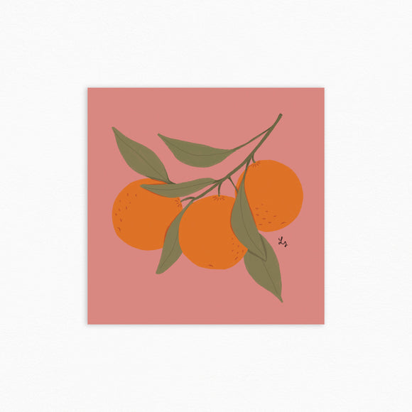 Oranges Print (by Laura Supnik)