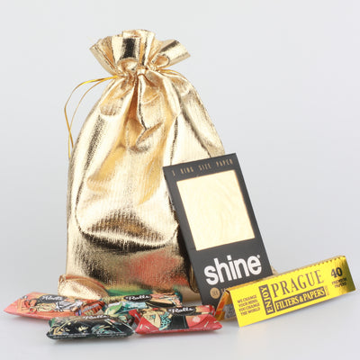 24 karat gold shine pack papes filter mit beutel