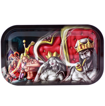 king queens rolling tray drehunterlage