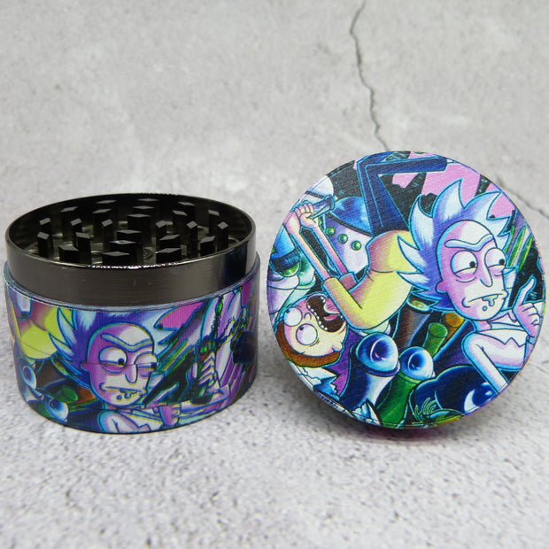 rick and morty six grinder