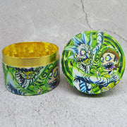 rick and morty three grinder