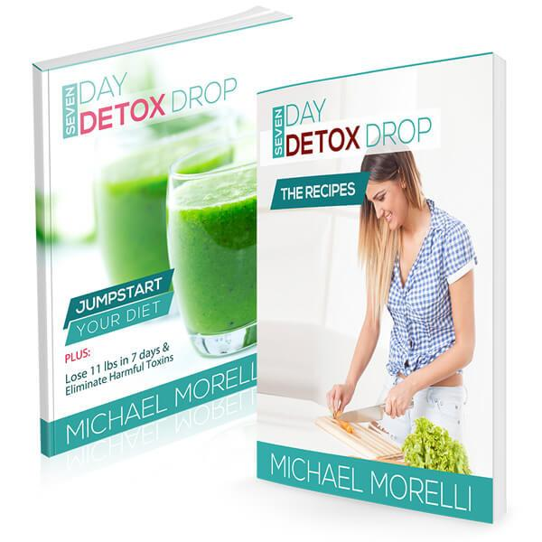 7 Day Detox Drop - MorelliFit - Cleanest Sports Supplements & Nutrition on Earth