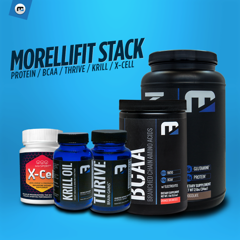 Morellifit Stack - MorelliFit - Cleanest Sports Supplements & Nutrition on Earth