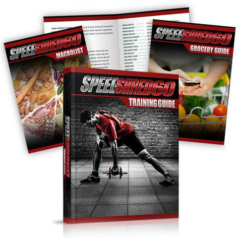 Speed Shred 60 Men - MorelliFit - Cleanest Sports Supplements & Nutrition on Earth