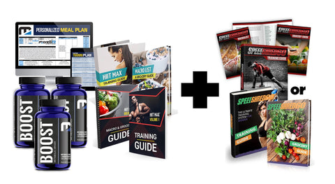 Fat Loss Stack (3-month Bundle Deal) - MorelliFit - Cleanest Sports Supplements & Nutrition on Earth
