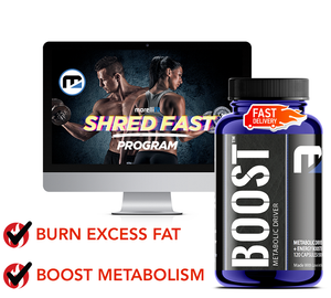 Shred BOOST - MorelliFit - Cleanest Sports Supplements & Nutrition on Earth