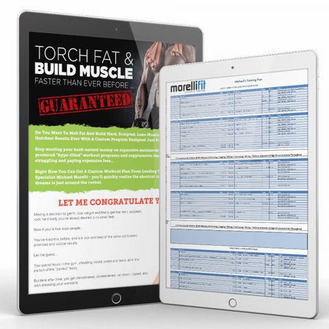 Custom Training Plan - MorelliFit - Cleanest Sports Supplements & Nutrition on Earth