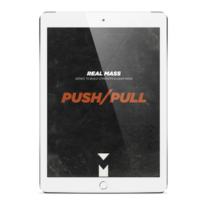 Real Mass Push Pull - MorelliFit - Cleanest Sports Supplements & Nutrition on Earth