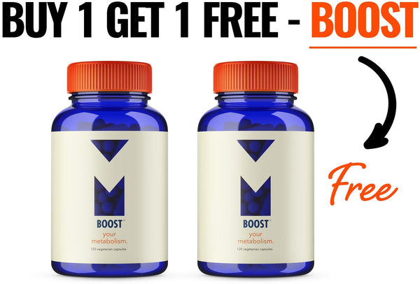 Boost - Metabolic Driver - BOGO - MorelliFit - Cleanest Sports Supplements & Nutrition on Earth