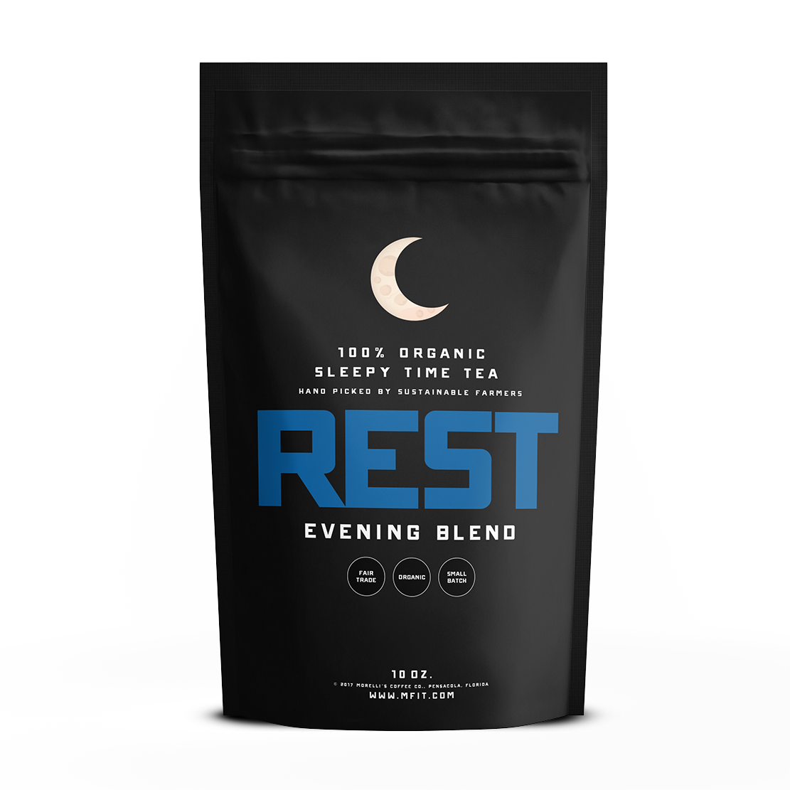 REST - Natural Sleep Aid - 100% Organic Tea - MorelliFit - Cleanest Sports Supplements & Nutrition on Earth