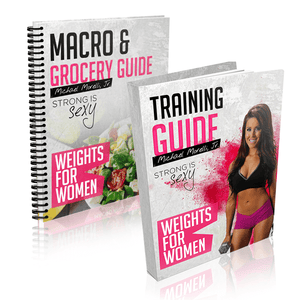 Weights For Women - MorelliFit - Cleanest Sports Supplements & Nutrition on Earth