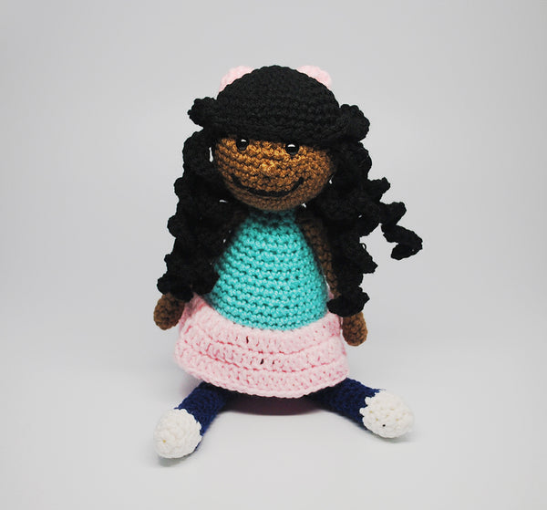 African American Doll- Girl