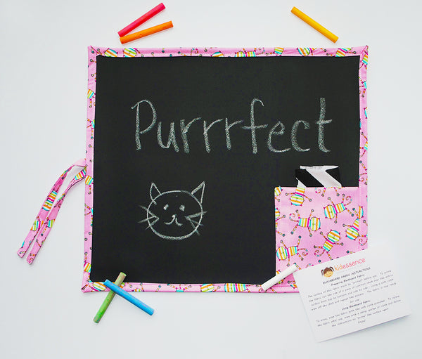 Cats Travel Chalkboard