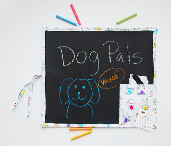 Dog Pals Travel Chalkboard