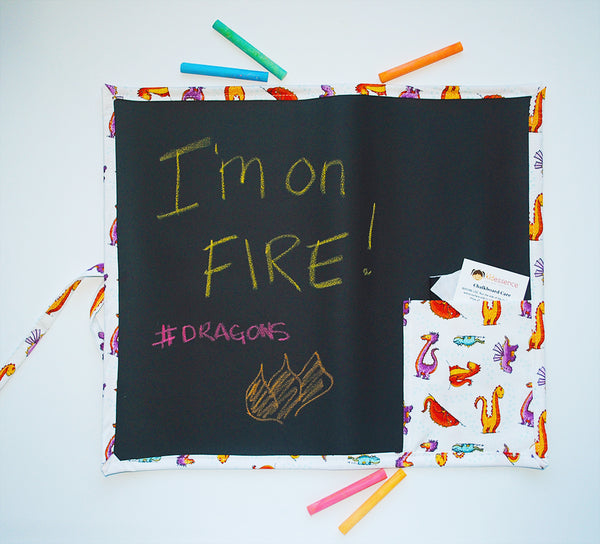 Dragon Travel Chalkboard