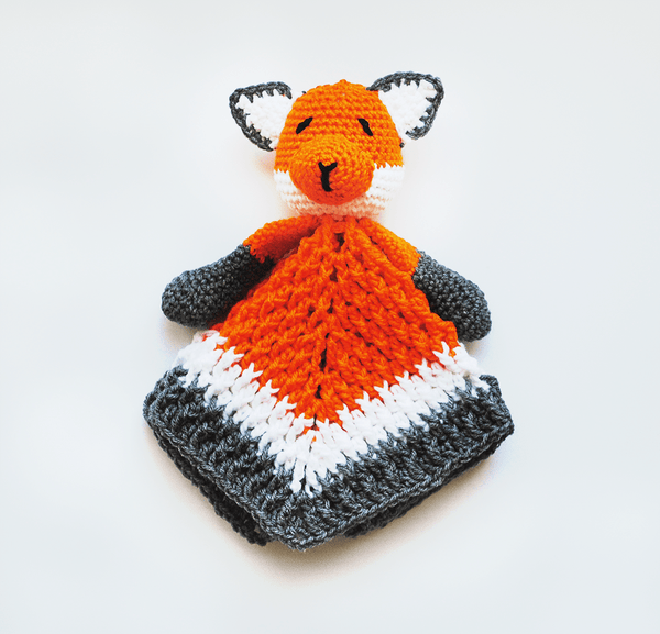Baby Fox Lovey Blanket - KidEssence