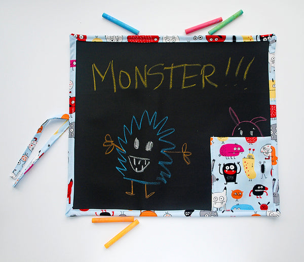 Monster Travel Chalkboard