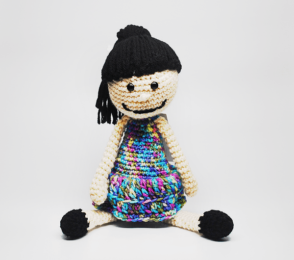 Custom, Personalized Crochet Doll - KidEssence