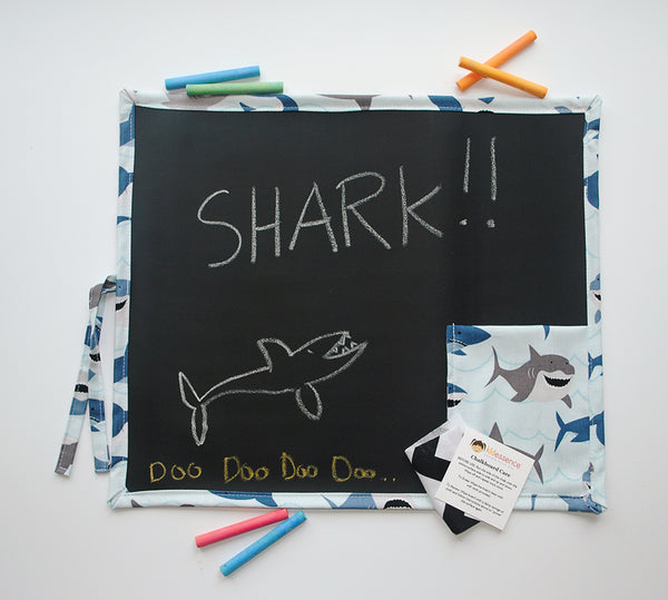 Shark Travel Chalkboard