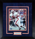 Pat Sullivan Autographed Auburn Tigers 8x10 Framed Photograph (Color)