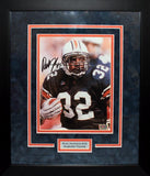 Rudi Johnson Autographed Auburn Tigers 8x10 Framed Photograph
