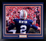 Cam Newton Autographed Auburn Tigers 16x20 Framed Photograph (Crowd)