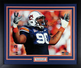 Nick Fairley Autographed Auburn Tigers 16x20 Framed Photograph (PhotoFile)