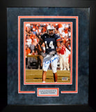 Carlos Rogers Autographed Auburn Tigers 8x10 Framed Photograph