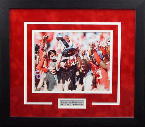 Houston Cougars 2015 AAC Champions 8x10 Framed Photograph