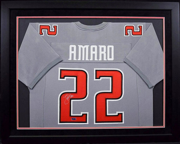 Jace Amaro Autographed Texas Tech Red Raiders #22 Framed Jersey