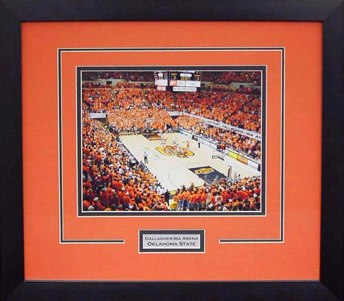 Oklahoma State Cowboys Gallagher-Iba Arena 8x10 Framed Photograph