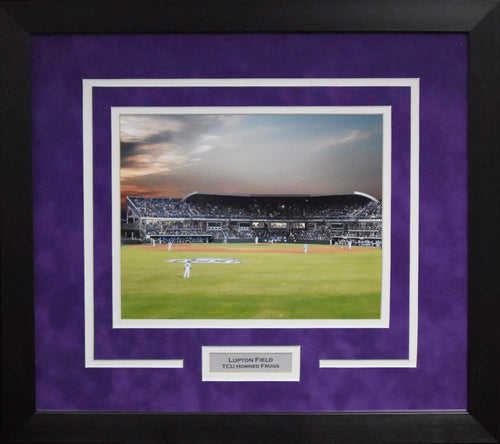 TCU Horned Frogs Lupton Stadium 8x10 Framed Photograph