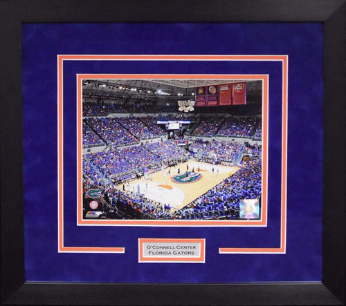 Florida Gators O'Connell Center 8x10 Framed Photograph