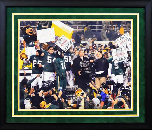 Baylor Bears 2013 Big XII Champions 16x20 Framed Photograph