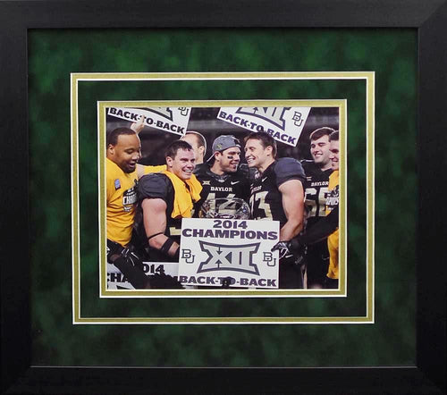 Baylor Bears 2014 Big XII Champions 8x10 Framed Photograph