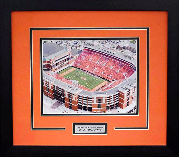 Oklahoma State Cowboys Boone Pickens Stadium 8x10 Framed Photograph