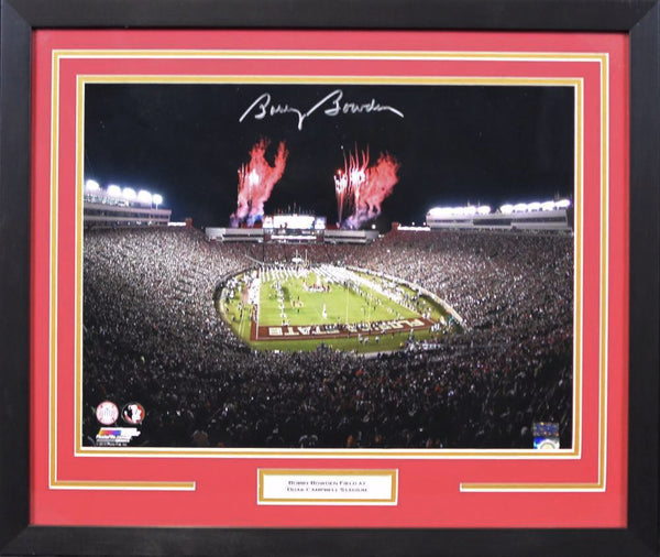 Bobby Bowden Autographed Florida State Seminoles 16x20 Framed Photograph - Stadium