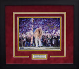 Bobby Bowden Autographed Florida State Seminoles 8x10 Framed Photograph - Spear
