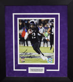 Trevone Boykin Autographed TCU Horned Frogs 8x10 Framed Photograph (Running)