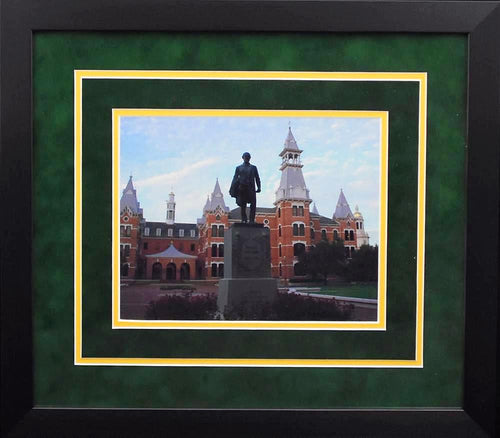 Baylor Bears Campus 8x10 Framed Photograph (Statue)