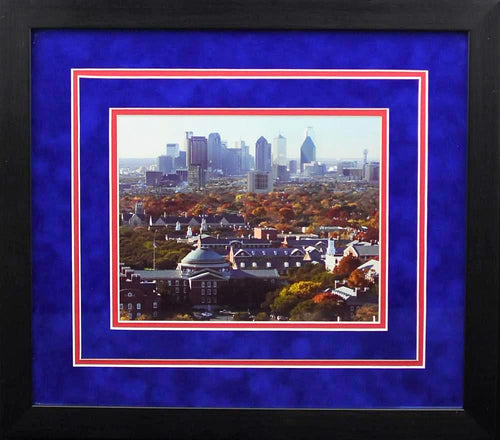 SMU Mustangs Campus 8x10 Framed Photograph