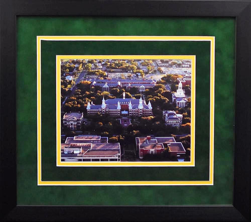 Baylor Bears Campus 8x10 Framed Photograph (Aerial)