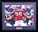 Brian Cushing Autographed Houston Texans 16x20 Framed Photograph