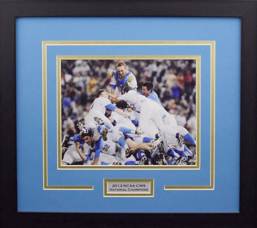 UCLA Bruins 2013 CWS Celebration 8x10 Framed Photograph