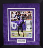 Andy Dalton Autographed TCU Horned Frogs 8x10 Framed Photograph